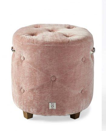 Riviera Maison pouf Bowery Pink 3941008 1