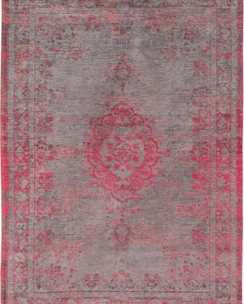 tapis Louis De Poortere LX8261 Fading World Medaillon Pink Flash